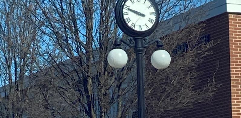 Borough Office Clock